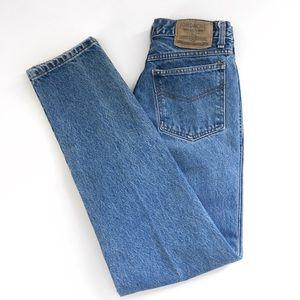 EUC Vintage Jordache Super High Rise Blue Size 7/8